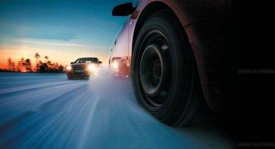 За Рулем: теcты зимних шипованных шин размера 205/55R16 (10.2010)