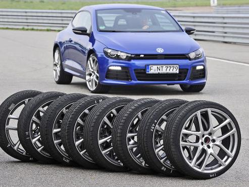 Auto Bild Sportscars: Теcт летних шин размера 245/30R20 (2012) PZN 4