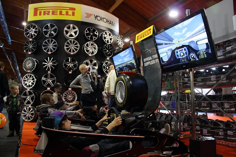 Visiem izstādes AutoExotica apmeklētājiem bija unikāla iespēja laimēt Pirelli vasaras riepu komplektu!