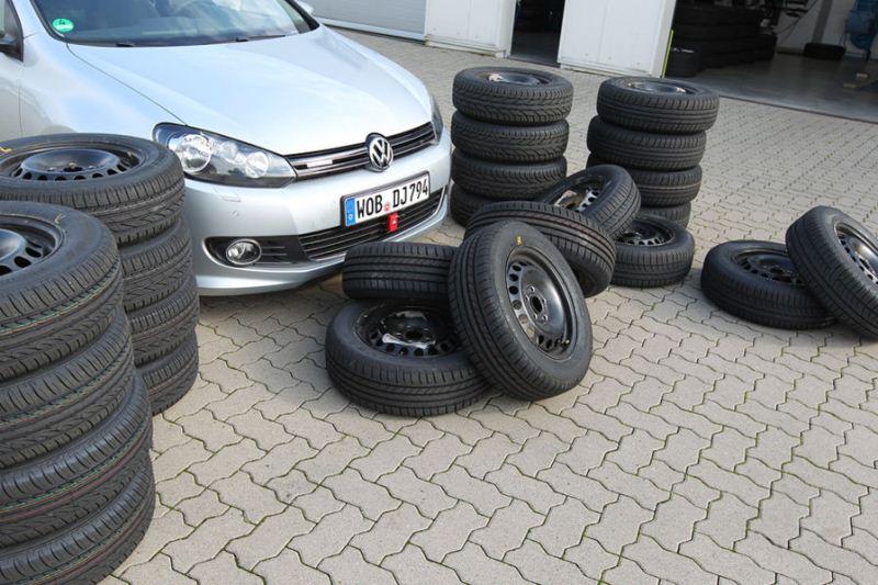 Auto Motor und Sport тест летних шин размерности 195/65R15 (2012)