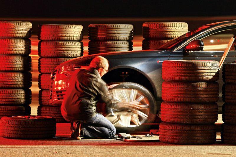 Auto Motor und Sport vasarinių padangų testas, dydis 245/45R18 (2012)