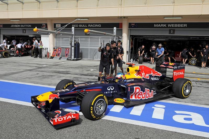 F1 Bahreinas Grand Prix 2012