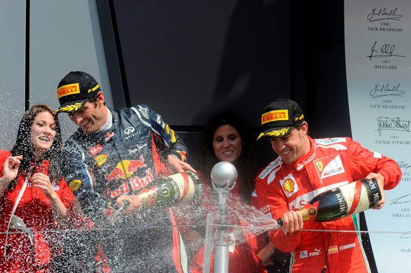 F1 Гран При Британии 2012