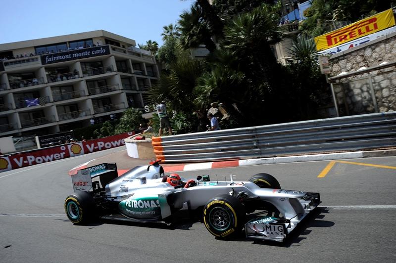 F1 Гран-При Монако 2012
