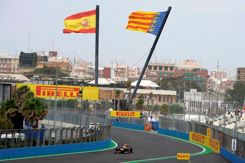 F1 Гран При Европы 2012