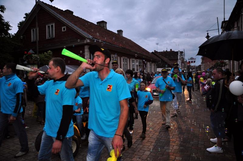 Pirelli Key Point Kuldīgā piedalījās pilsētas svētku svinībās
