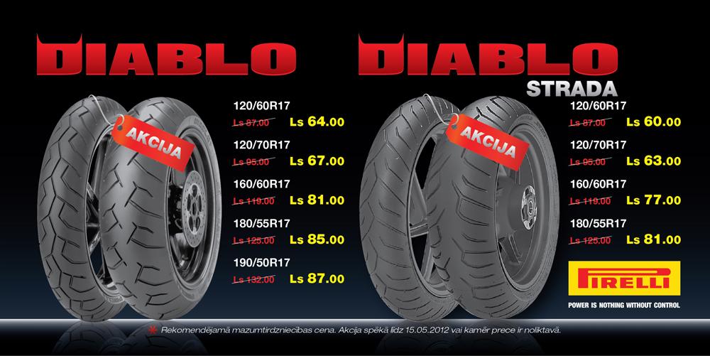 Pirelli Diablo akcija 2012
