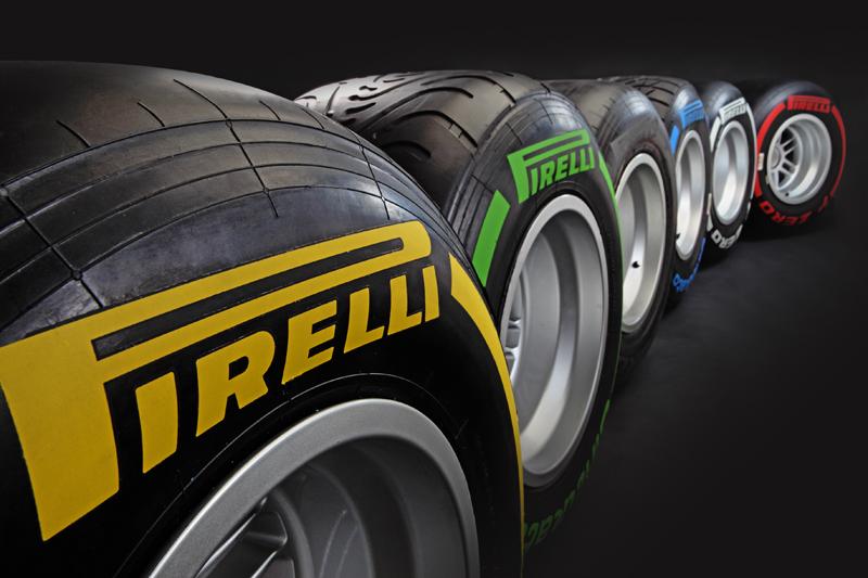 02.2012 Pirelli предcтавила новые шины для Formula 1