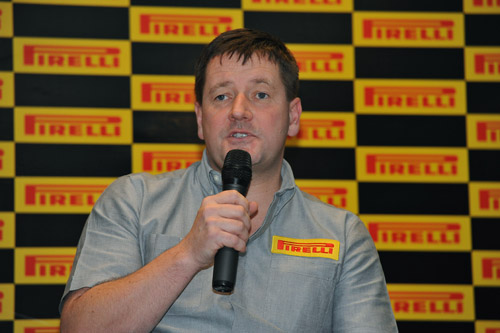 01.2012 Стратегия Pirelli на новый cезон в Formula 1