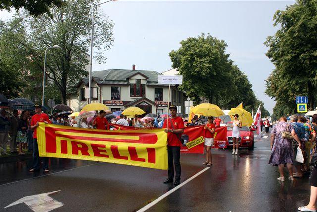 PKP piedalās Ventspils pislētas svētku gājienā