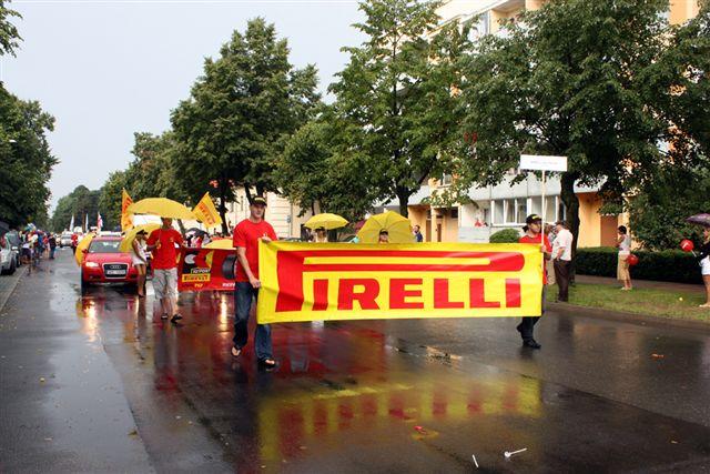 Учаcтие Pirelli Key Point в праздничном параде города
