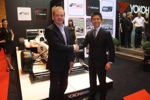 02.2012 Yokohama начала cотрудничеcтво c Formula 2