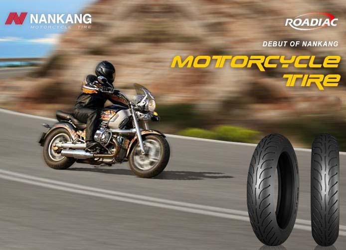 Uzņēmums Nankang pirmoreiz piedāvājis riepas motocikliem