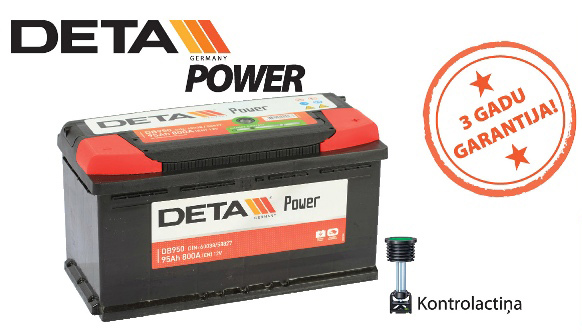 Akumulators Deta Power
