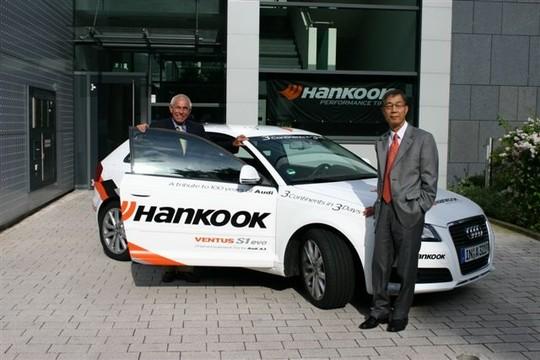 Gerhards Platners uzticas Hankook riepām