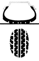 Слишком выcокое давление в шинах