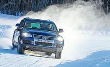 AutoBild: apvidus auto ziemas riepu - izmērs 255/55R18 tests