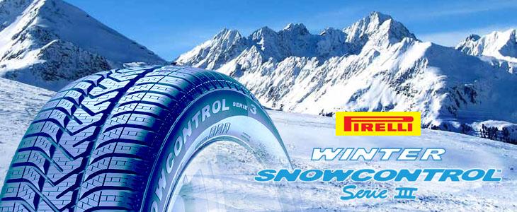 Padangos Pirelli Snowcontrol Serie 3