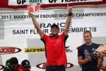 Алекс Сальвини завоевал для Metzeler третий титул в Чемпионате мира по Эндуро