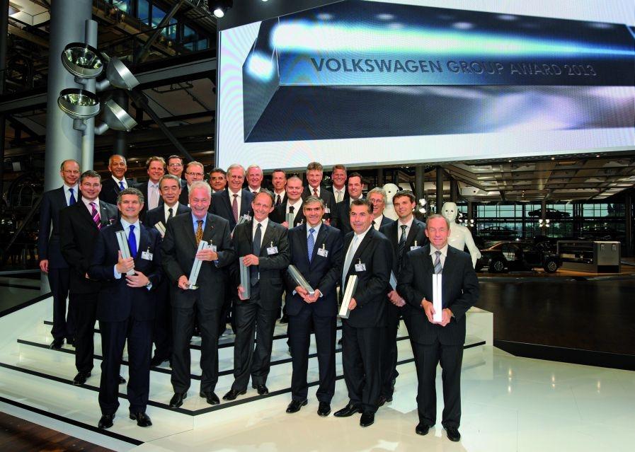 Pirelli получила награду Global Champion от компании Volkswagen