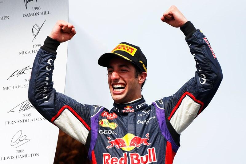 Даниэль Риккардо одержал победу в Гран При Канады