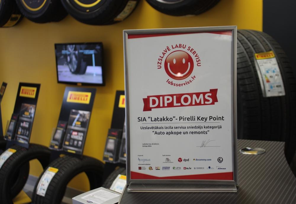 Шинные центры Pirelli Key Point – лучшие в своей отрасли