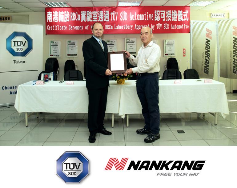 TÜV SÜD akreditējusi Nankang RRCm laboratoriju