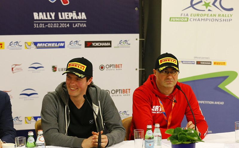 Василий Грязин в Чемпионате Европы на шинах Pirelli