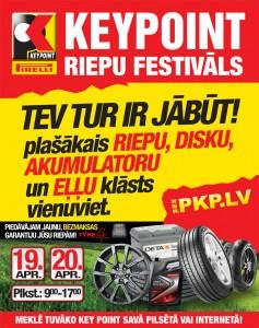 LIELAIS RIEPU FESTIVĀLS 19 un 20 APRĪLĪ VISĀ LATVIJĀ!
