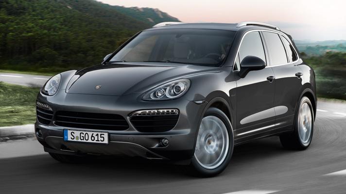 Шины Yokohama вошли в заводскую комплектацию Porsche Caynne
