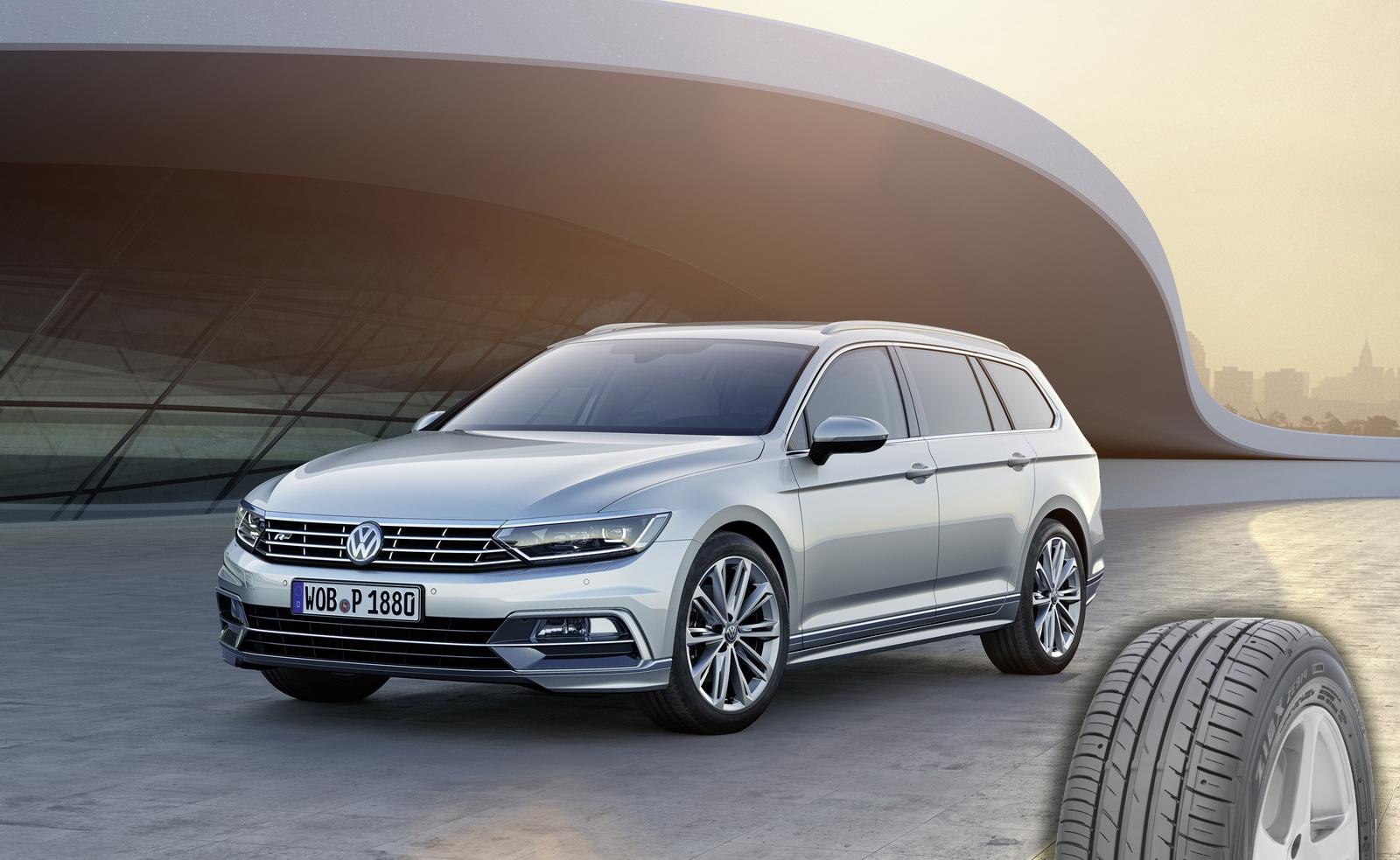 Volkswagen Passat komplekteeritakse Falken rehvidega