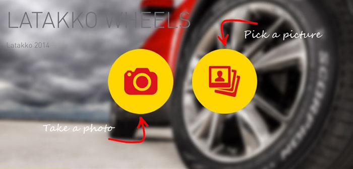 Susipažinkite – aplikacija Latakko Wheels!