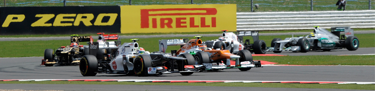 Обгоны Формулы-1 2012 года