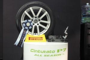 Pirelli на SEMA получила награду в категории «Лучшая шина» за всесезонную Pirelli Cinturato P7 All Season