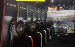 На SEMA посетители могли увидеть «формульные» шины Pirelli,