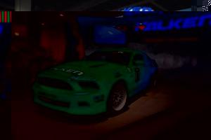 На стенде также был дрифтовый Mustang Джастина Полака. Компания не забывает напоминать о своем участии в этом виде спорта