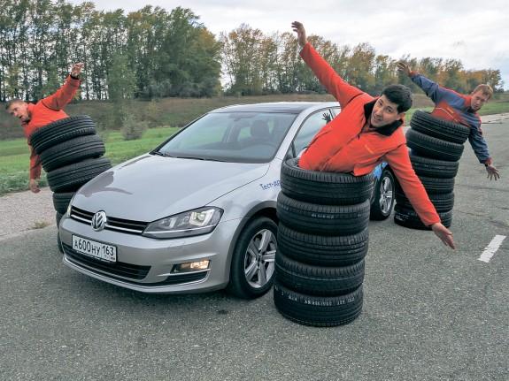 За рулем: Тесты летних шин размера 205/55 R16 (2014)