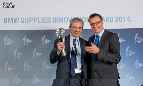 Pirelli получила от BMW награду за инновационнсть