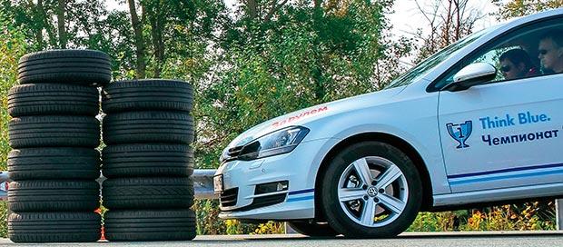 За рулем: тесты летних шин размера 205/55 R16 (PCP7b-1/15)